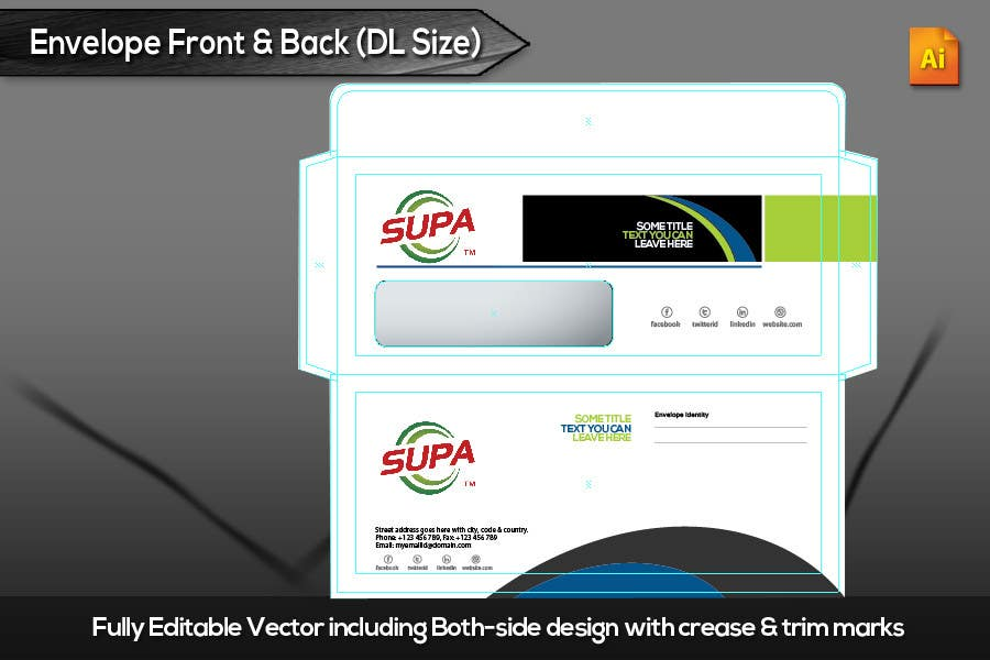 #16 for Develop a Corporate Identity for SUPA brand by xtreemsteel