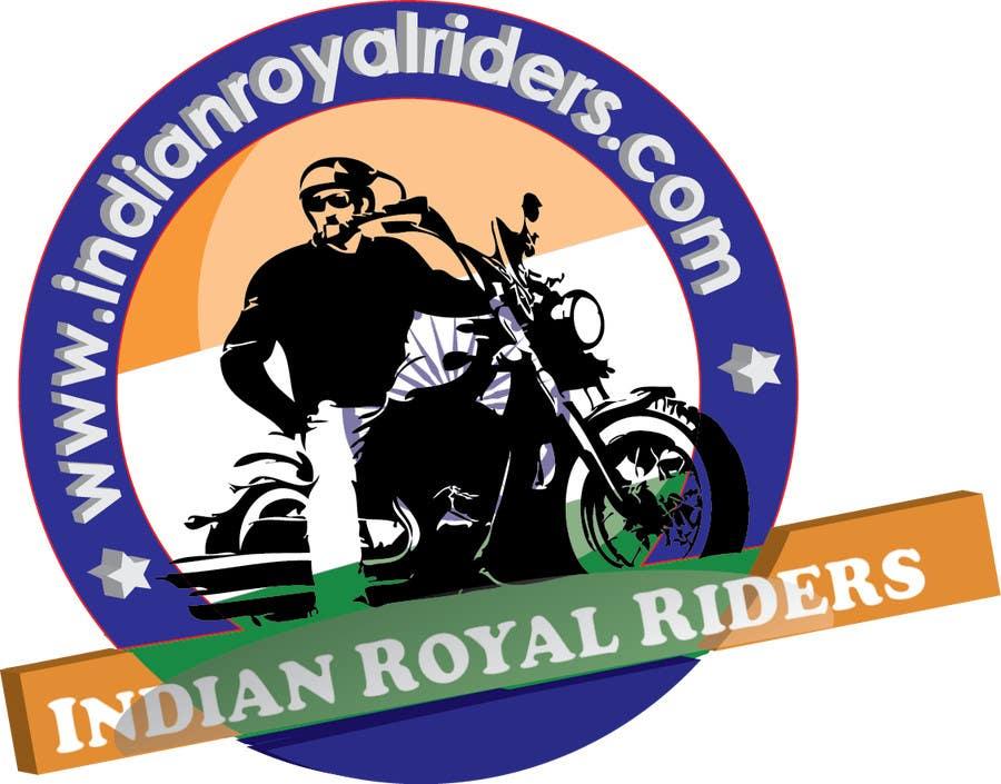 Inscrição nº                                         15                                      do Concurso para                                         Design a Logo for Indianroyalriders.com
