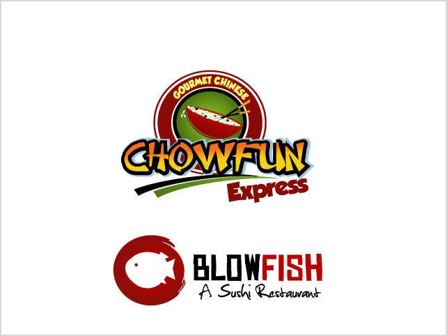 #114 for Design two Logos for a Chinese restaurant and a sushi restaurant by saimarehan