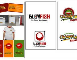 #190 for Design two Logos for a Chinese restaurant and a sushi restaurant by saimarehan