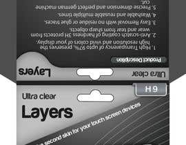 #5 para Need Print and Packaging Designs for screen protector brand por Artimization