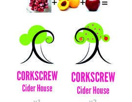 #12 para Design a Logo for Corkscrew Cider House por oscicen