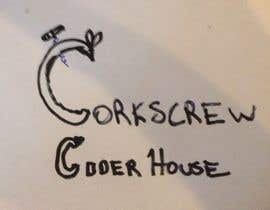 #1 para Design a Logo for Corkscrew Cider House por swimlessonguru