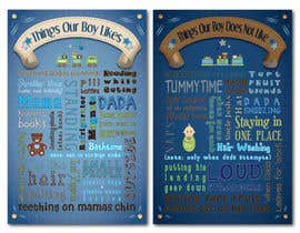 #13 untuk Whimsical Nursery Posters - Text-Based (Text Provided) oleh KCale