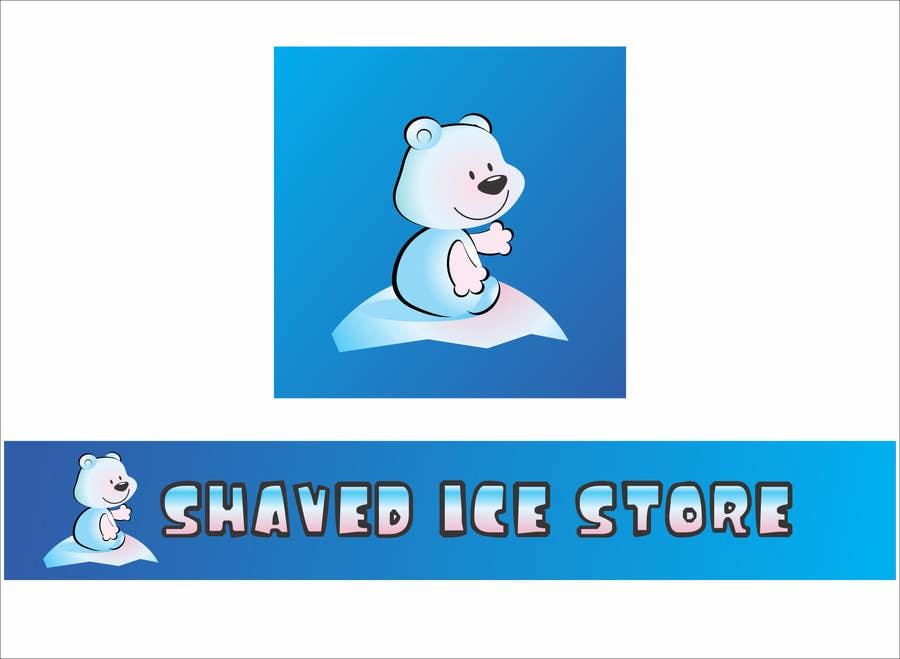 Bài tham dự cuộc thi #                                        38                                      cho                                         Design a Logo for shaved ice dessert store