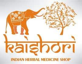 Nro 92 kilpailuun Design a Logo for Indian Herbal Medecine Shop käyttäjältä arenadfx