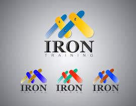 #421 para Design a Logo for IRON TRAINING por Asadtony