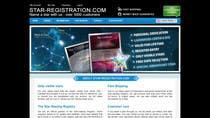 Proposition n° 80 du concours Graphic Design pour Design a banner for a star naming website