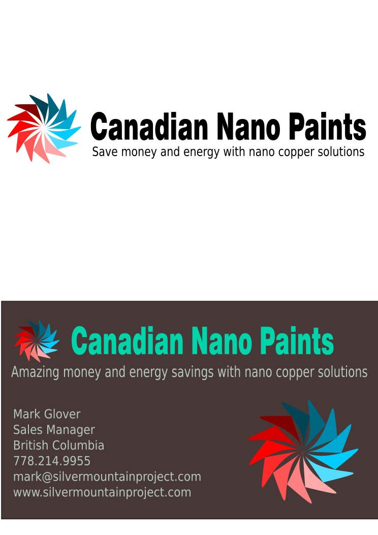 Entry #47 by timfin for Canadian Nano-Cote ...Design a Logo ...