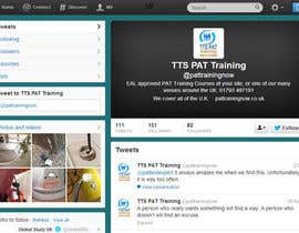 #5 untuk Design a Twitter background for me oleh hussamalzubaidi