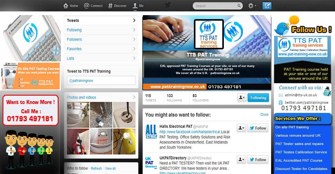 Inscrição nº                                         9                                      do Concurso para                                         Design a Twitter background for me