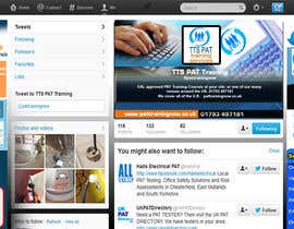 #12 para Design a Twitter background for me por kinarya