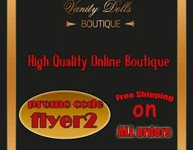 #8 for Online Clothing Boutique Flyer VANITY DOLLS BOUTIQUE by oanacuzmin