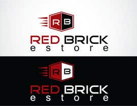 nº 48 pour Design a Logo for Red Brick Estore par Greenit36
