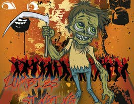 nº 6 pour art for zombie cd cover par Zanilla