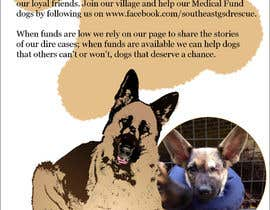 #11 for Design a Brochure for Southeast German Shepherd Rescue's Chance Medical Fund af subhashisghosh