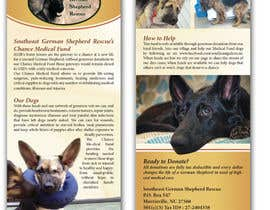 #13 for Design a Brochure for Southeast German Shepherd Rescue's Chance Medical Fund af tmorozova69