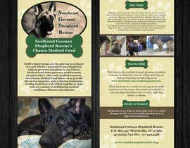 #5 for Design a Brochure for Southeast German Shepherd Rescue's Chance Medical Fund af Mimi214