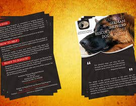 nº 11 pour Design a Brochure for Southeast German Shepherd Rescue's Phoenix Dog Program par xsodia