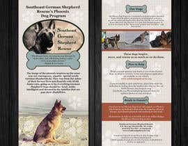 nº 5 pour Design a Brochure for Southeast German Shepherd Rescue's Phoenix Dog Program par Mimi214