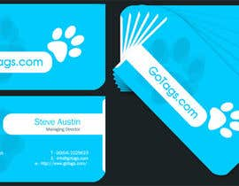 #32 untuk Business Card Design for GoTags.com LLC oleh babugmunna