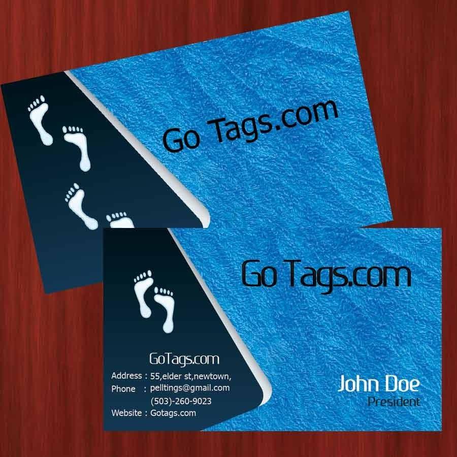 Конкурсная заявка №61 для Business Card Design for GoTags.com LLC