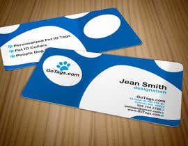 #56 pentru Business Card Design for GoTags.com LLC de către imaginativeGFX