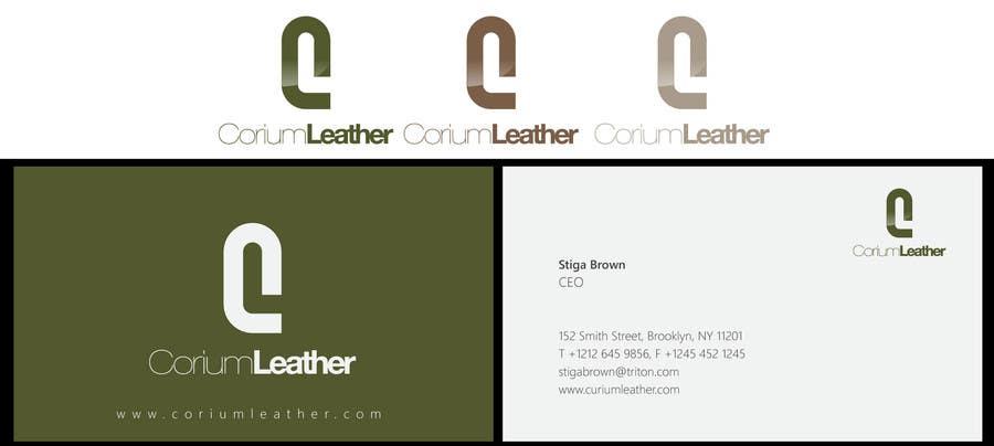 Penyertaan Peraduan #128 untuk Design a Logo for Corium Leather