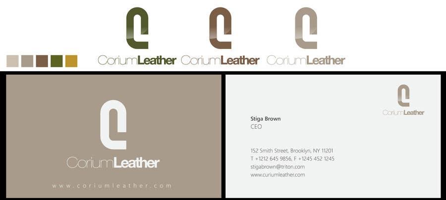 Penyertaan Peraduan #                                        129                                      untuk                                         Design a Logo for Corium Leather