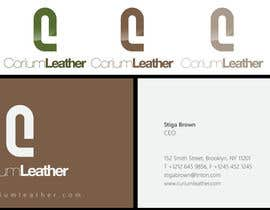 #132 para Design a Logo for Corium Leather por sproggha