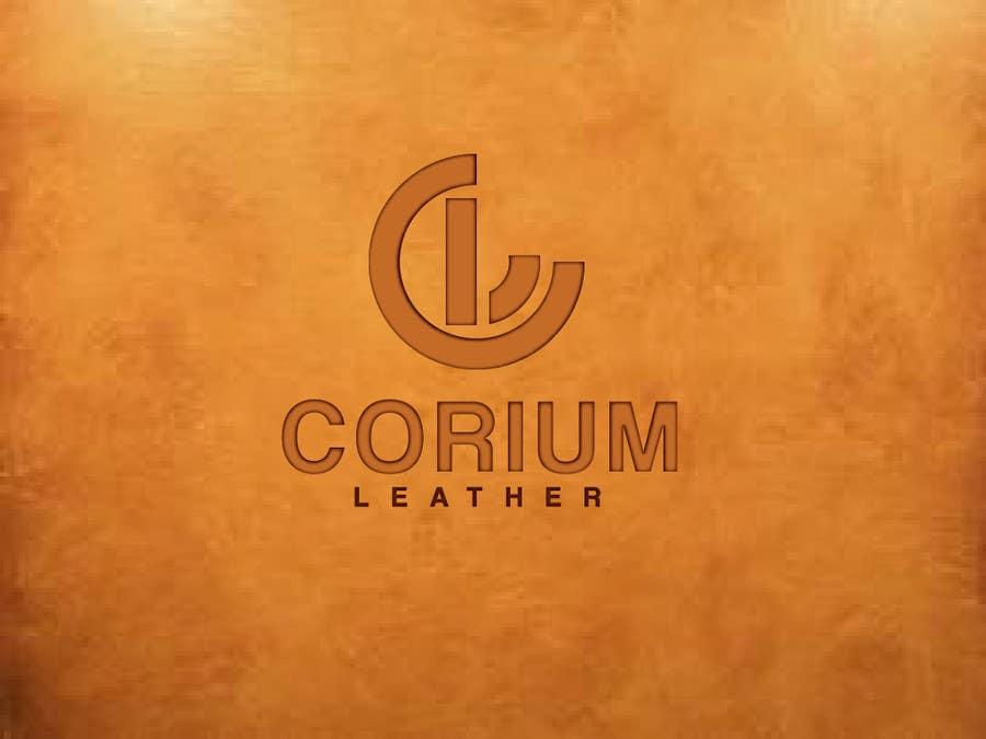 Penyertaan Peraduan #167 untuk Design a Logo for Corium Leather