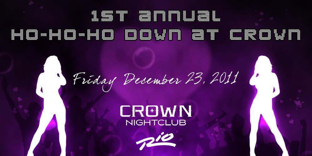 Proposition n°                                        3                                      du concours                                         Easy Quick Facebook Graphic Design for Crown Nightclub Las Vegas