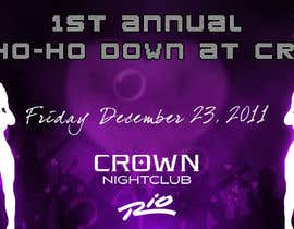 nº 3 pour Easy Quick Facebook Graphic Design for Crown Nightclub Las Vegas par smjakkan