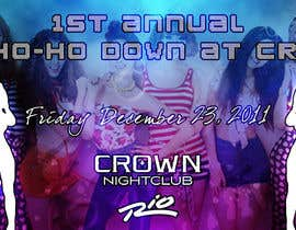 #6 para Easy Quick Facebook Graphic Design for Crown Nightclub Las Vegas por smjakkan