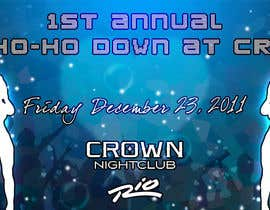 #8 para Easy Quick Facebook Graphic Design for Crown Nightclub Las Vegas por smjakkan