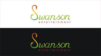 #153 para Design a Logo for Swanson Entertainment por nomi2009