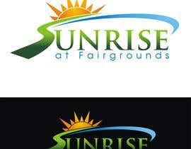 designerartist tarafından Design a Logo for Sunrise at Fairgrounds için no 18