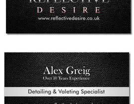 #31 untuk Design some Business Cards for Detailing business oleh silverpendesigns