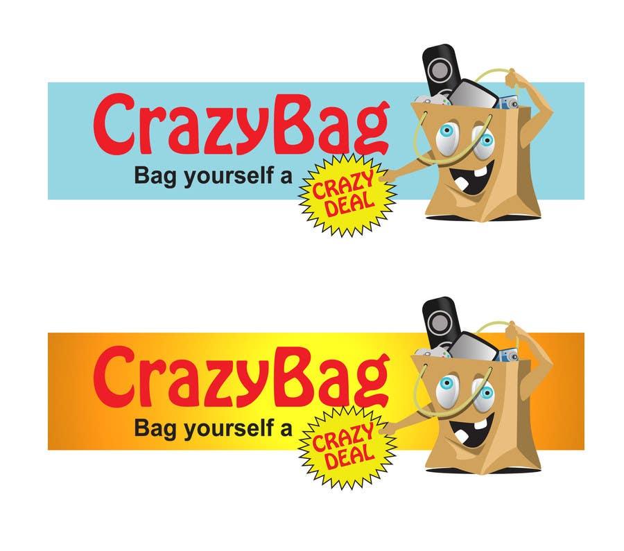 Inscrição nº 43 do Concurso para Design a Logo for CrazyBag!