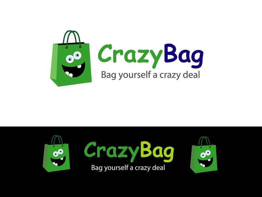 Inscrição nº 44 do Concurso para Design a Logo for CrazyBag!