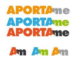 #6 for Diseñar un logotipo que diga APORTAME , el sitio web sera aporta.me af lozano312