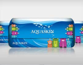 #7 para Design cool pouch style packaging for AQUASKIN... por Artimization