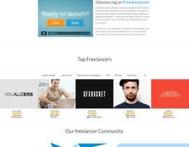 #27 untuk Freelancer.com Landing Page Design - High Conversion Webpage Design oleh gfxbucket