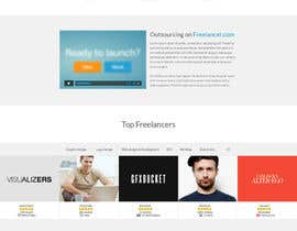 #38 cho Freelancer.com Landing Page Design - High Conversion Webpage Design bởi gfxbucket