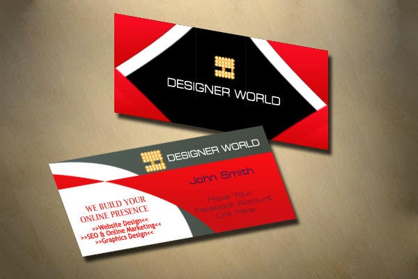 Konkurrenceindlæg #705 for Top business card designs - show off your work!