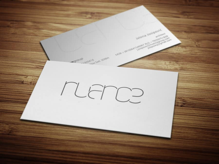 Konkurrenceindlæg #712 for Top business card designs - show off your work!