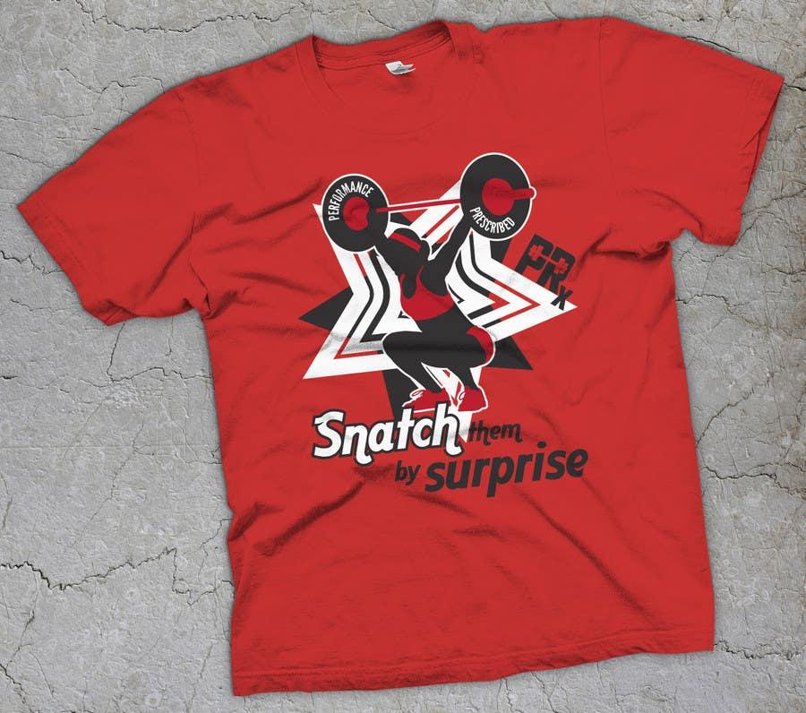 Penyertaan Peraduan #31 untuk Design a CrossFit Themed T-Shirt for us