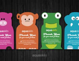 #13 untuk Design a one side voucher for AQUASKIN... oleh Mimi214
