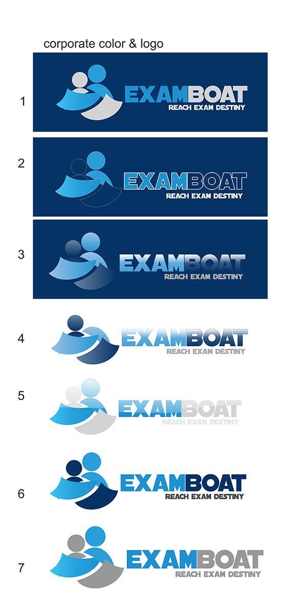 Kilpailutyö #16 kilpailussa Logo for exam website
