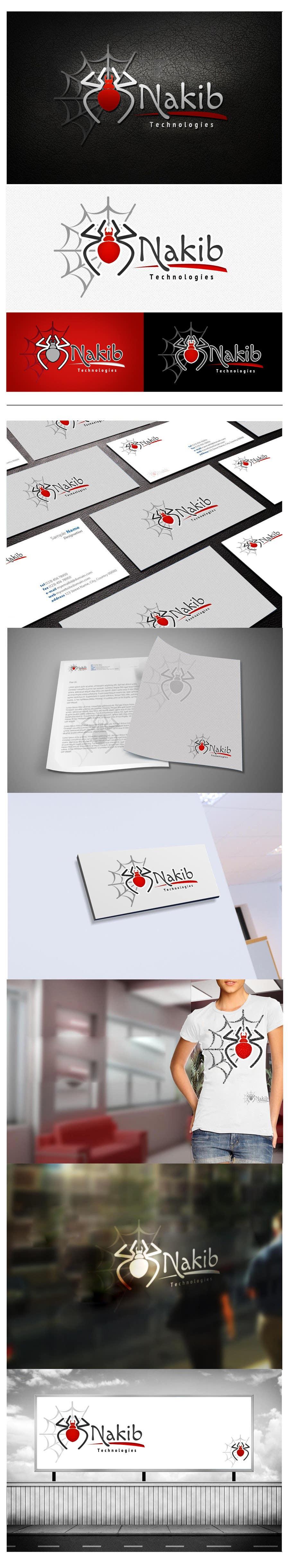Kilpailutyö #66 kilpailussa Develop a Corporate Identity for 3nkaib Technologies (Spiders)